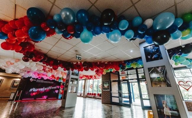 Balonowe dekoracje organiczne