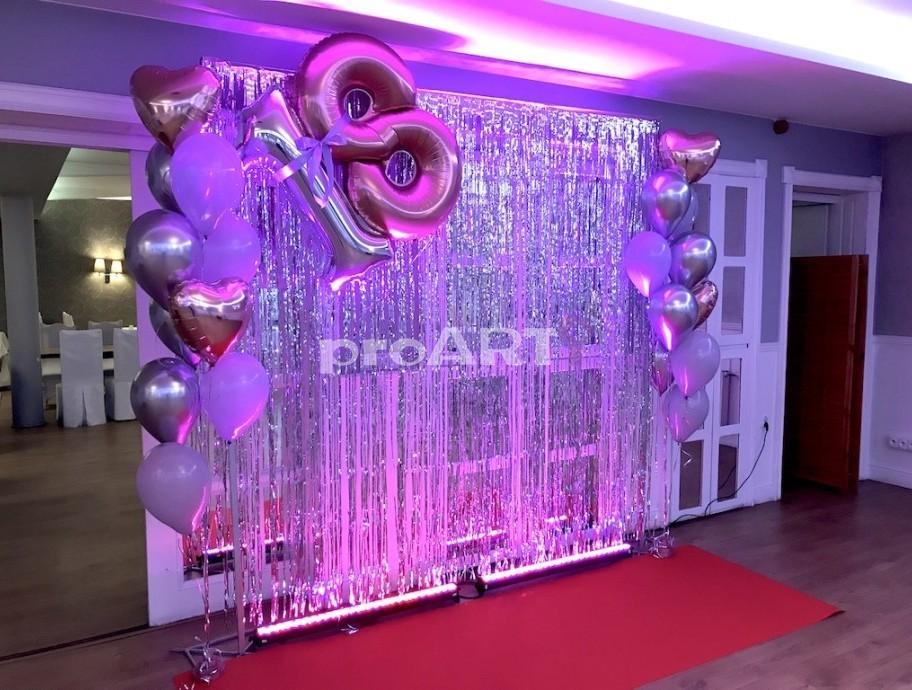Dekoracje Na 18 Urodziny Dekoracje Urodzinowe Wystroj Sali Proarti